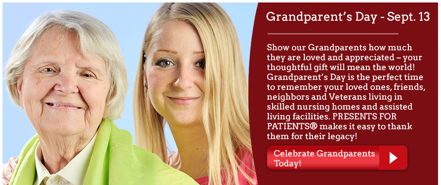 Give a Gift for Grandparent's Day